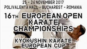 European Cup Karate Kyokushin Bucharest 2017