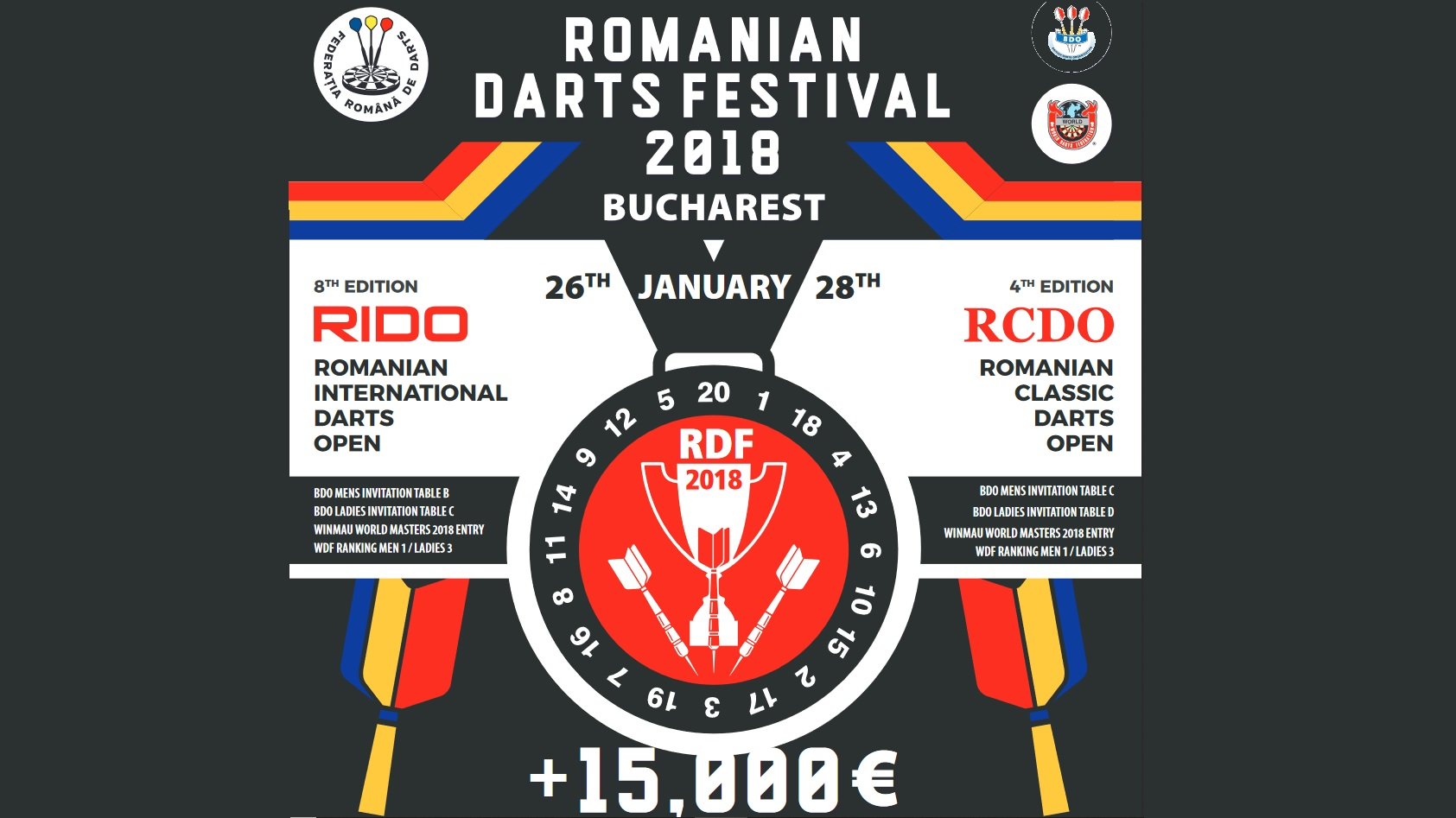 Romanian Darts Festival 2019